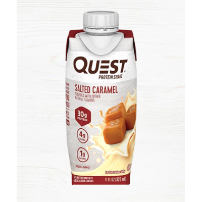 Salted Caramel Protein Shake Ready-To-Drink (pack of 4)