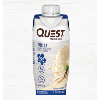 Vanilla Protein Shake Ready-To-Drink (pack of 4)