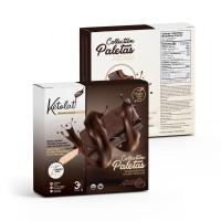 Barre glacée Kéto double chocolat