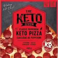 Keto Pizza classique 12'' au pepperoni et fromage