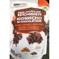 Rochers Céto au chocolat noir