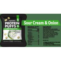 Boules de soya saveur crème sûre et oignon (8 sachets)