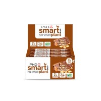 Smart Plant barre choco-arachide-caramel (boîte de 12 barres)