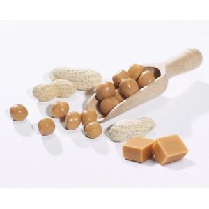 Bouchées de soja au caramel & aux arachides
