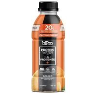 Eau protéinée caféinée à l'orange