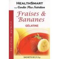 Gélatine fraise-banane