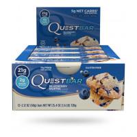 Barre au muffin aux bleuets (boîte de 12)
