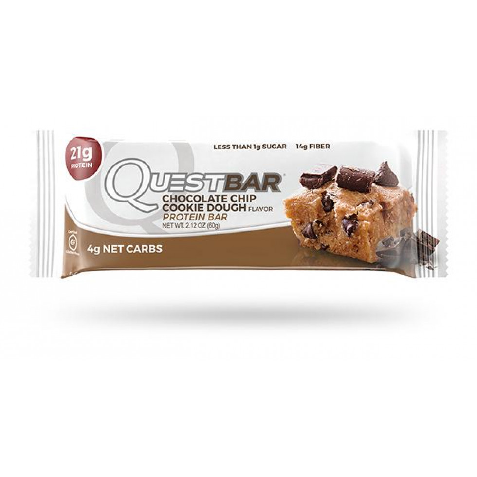 Chocolate chip Cookie Dough bar (3 bars) - Quest/Protein911
